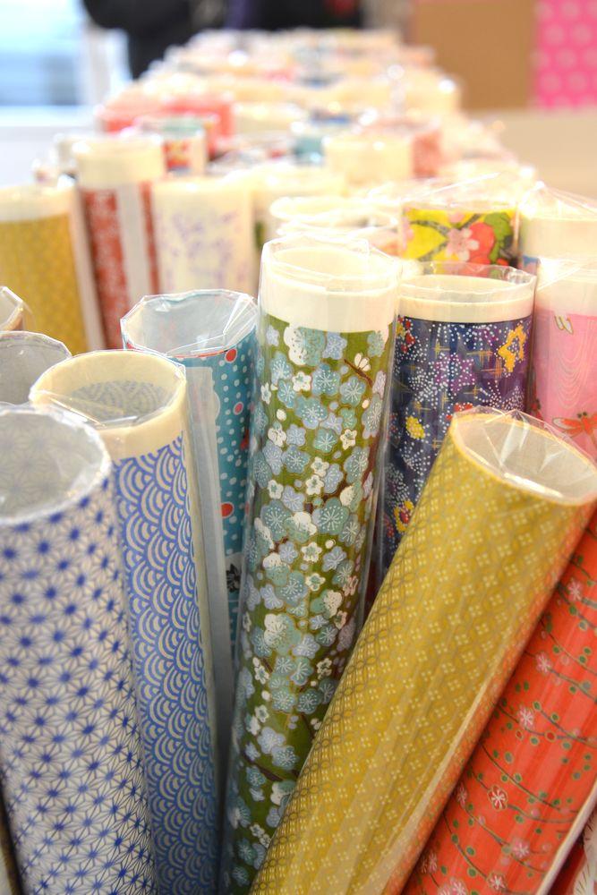 papier washi en rouleau