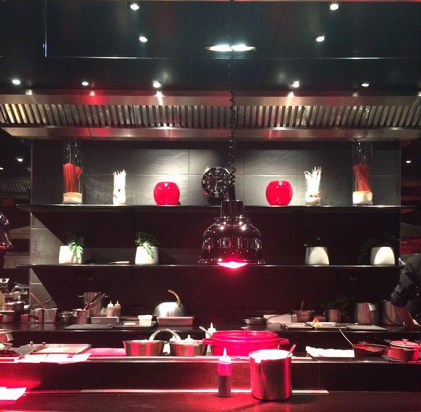 Déjeuner Atelier Joël Robuchon Etoile restaurant 75008