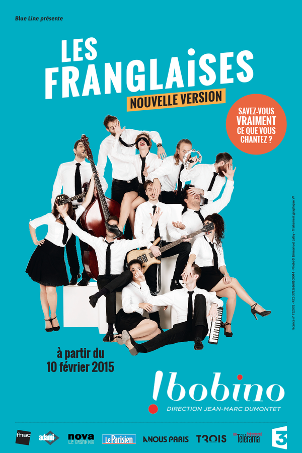 Affiche spectacle Les Franglaises Bobino