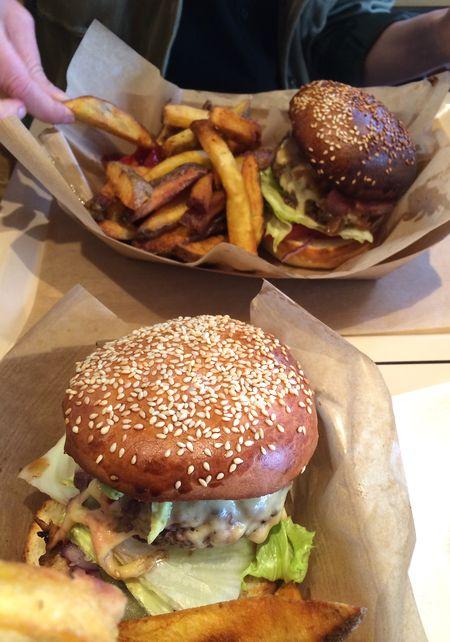Burgers 2 Big Sur Ktchen cantine 75009