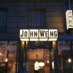 Un dîner au restaurant John Weng