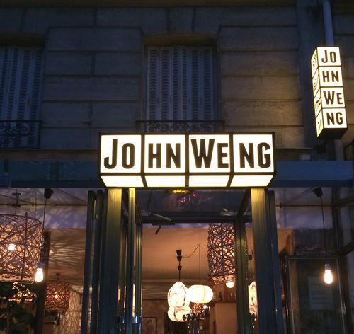 Restaurant John Weng 75017
