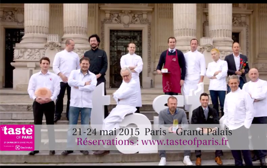 Festival Taste of Paris au Grand Palais