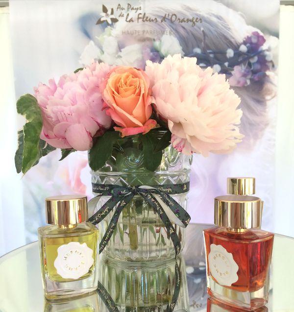 Au pays de la fleur d'oranger haute parfumerie Grasse