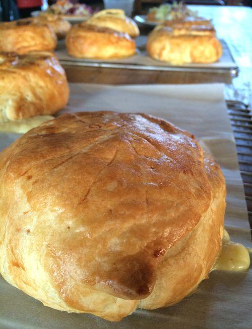 Feuilleté au camembert Croustipate pâtes à tarte au beurre frais