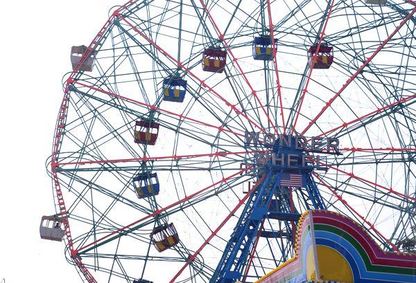 Coney Island Wonder Wheel Brooklyn NYC