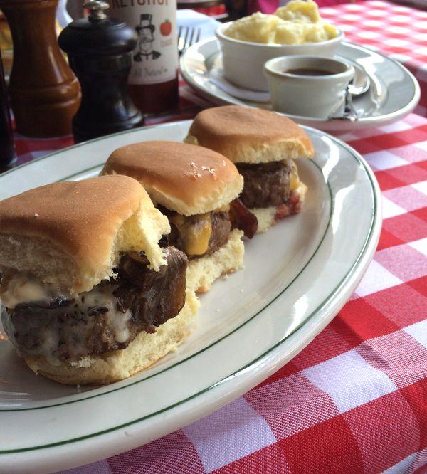 Trio burgers P.J. Clarke's NYC