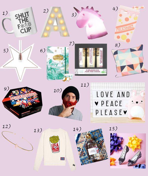 15 cadeaux Noël 2015