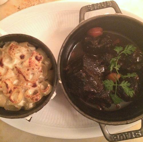 Plat - Joue de boeuf - restaurant - Le Chardenoux - Cyril Lignac