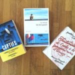 3 nouveaux romans à mettre dans votre valise pour les ponts de Mai
