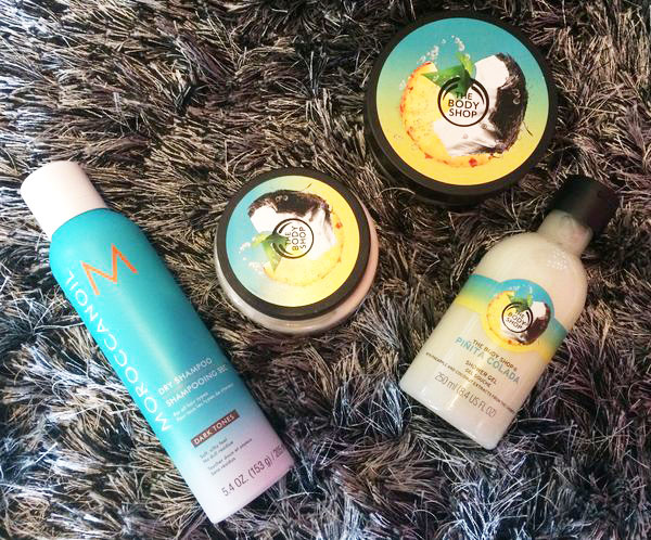 The Body Shop-Piñita Colada-Moroccanoil