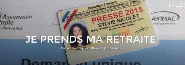 Blog-Sylvie Nicolet-journaliste-retraite