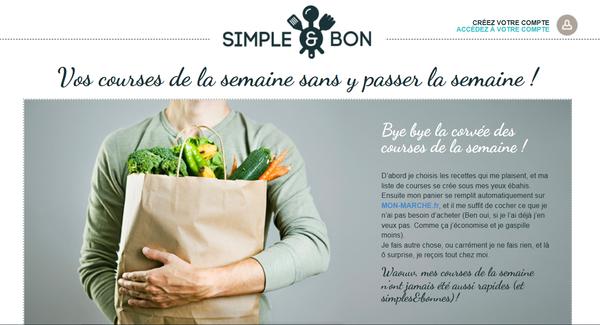 Simple et Bon-site-courses-recettes