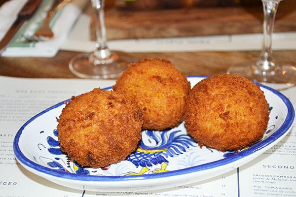 arancini-Mamma primi-restaurant-italien-batignolles-paris-75017