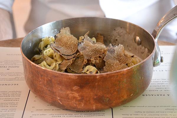 pasta-truffe-Mamma primi-restaurant-italien-batignolles-paris-75017