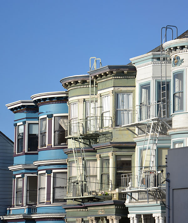San Francisco-Maisons