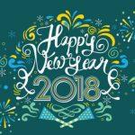Très belle année 2018 !